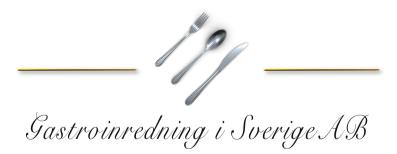 Gastro Inredning